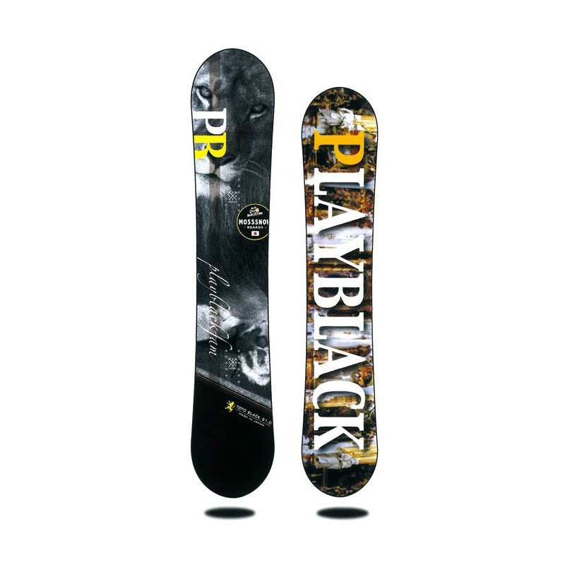 MOSS SNOWBOARDS【TOTO BLACK】